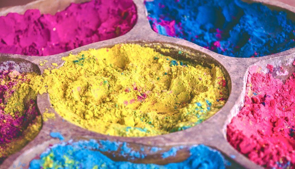 ヒンディー語で色の画像