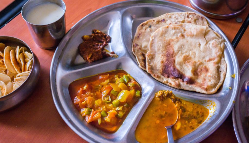 ヒンディー語で味の感想を伝える画像